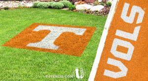 Tennessee lawn stencil kit