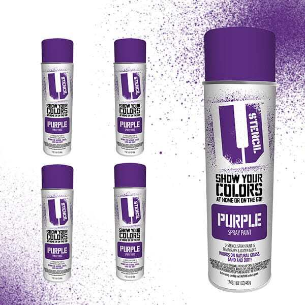 Spray Paint Purple 4-Pack