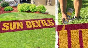 "Arizona State ""SUN DEVILS"" stencil kit"