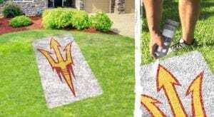 ASU Trident lawn stencil kit