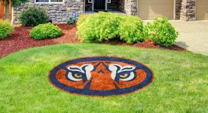 Auburn University Tiger Shield Lawn Stencil Kit