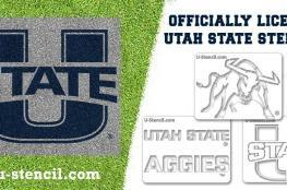 Utah State Stencils