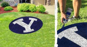 """Brigham Young """"Y"""" Lawn Stencil Kit"""