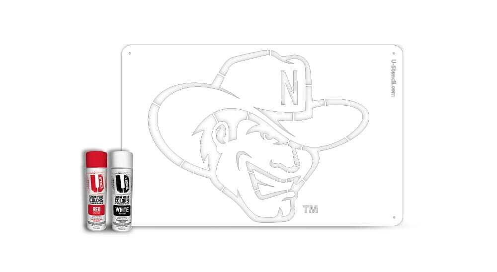 Nebraska Herbie – Tailgater Stencil Kit