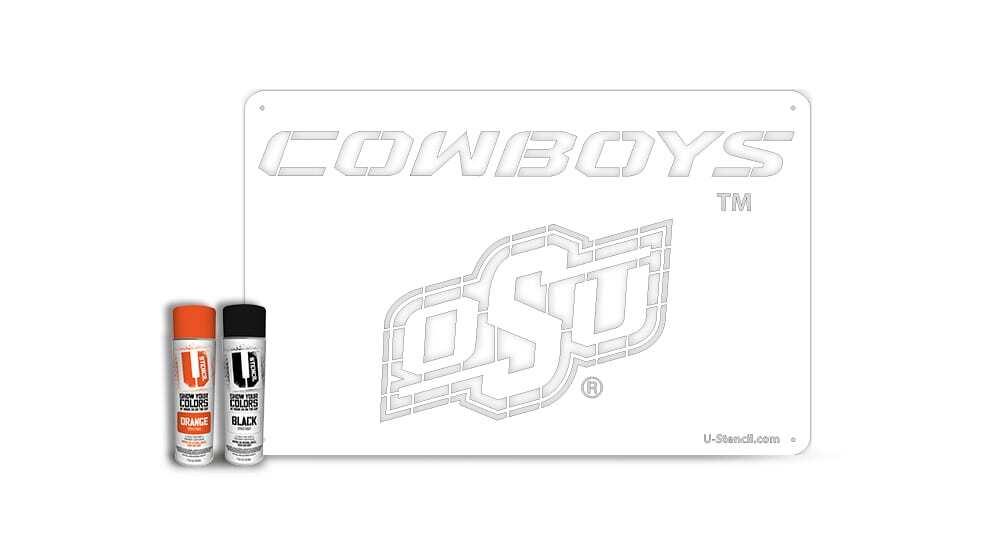"Oklahoma State University ""Cowboys"" – Tailgater Stencil Kit"