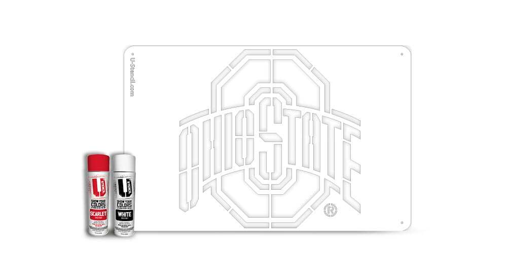 Ohio State – Tailgater Stencil Kit