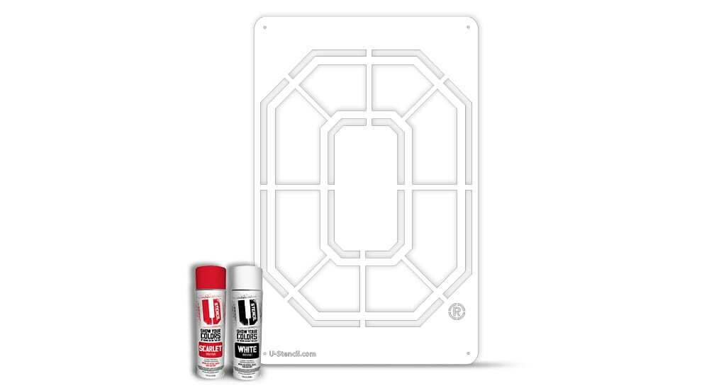 "Ohio State ""O"" – Tailgater Stencil Kit"