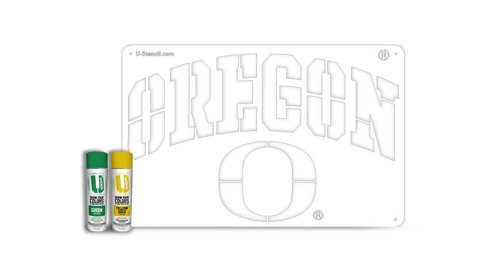 "Oregon ""OREGON"" – Tailgater Stencil Kit"