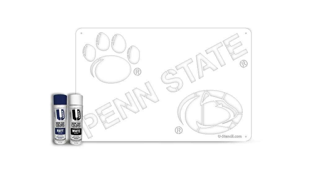 """Penn State"" – Tailgater Stencil Kit"