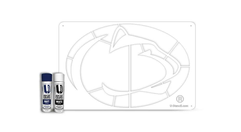 Penn State Nittany Lion – Tailgater Stencil Kit