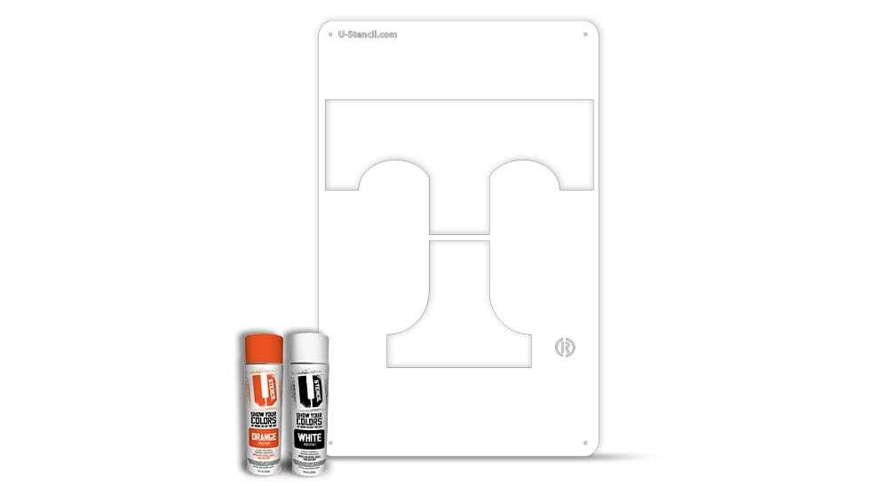 "Tennessee ""T"" – Tailgater Stencil Kit"