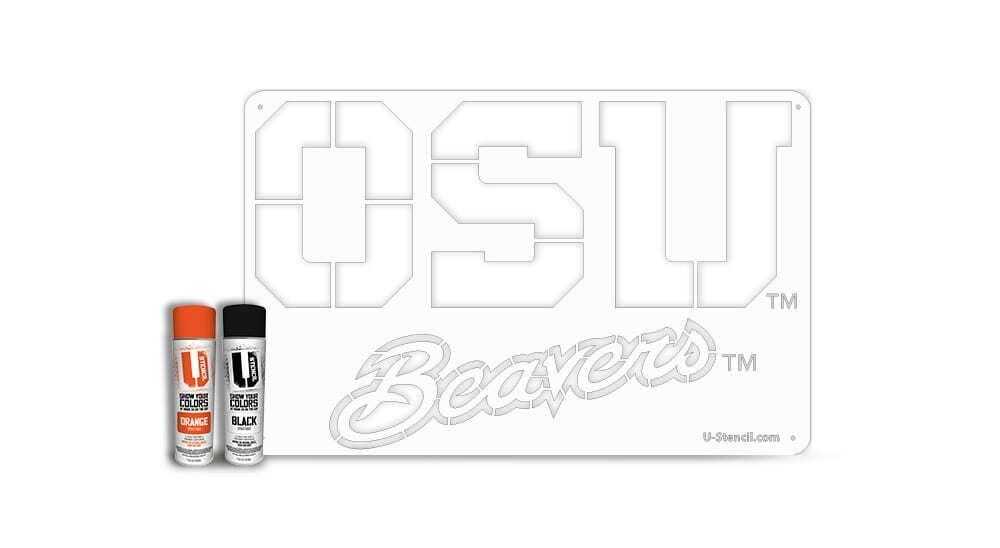 "Oregon State ""OSU"" – Tailgater Stencil Kit"
