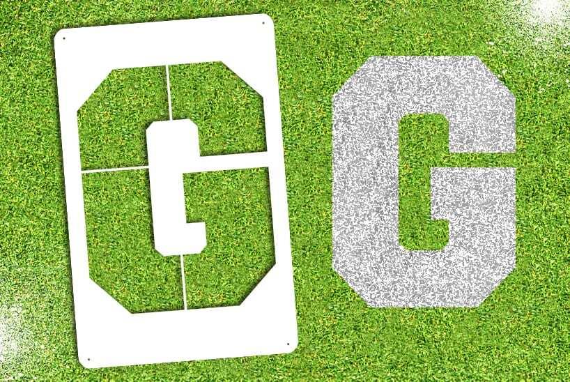 "Letter ""G"" Stencil"