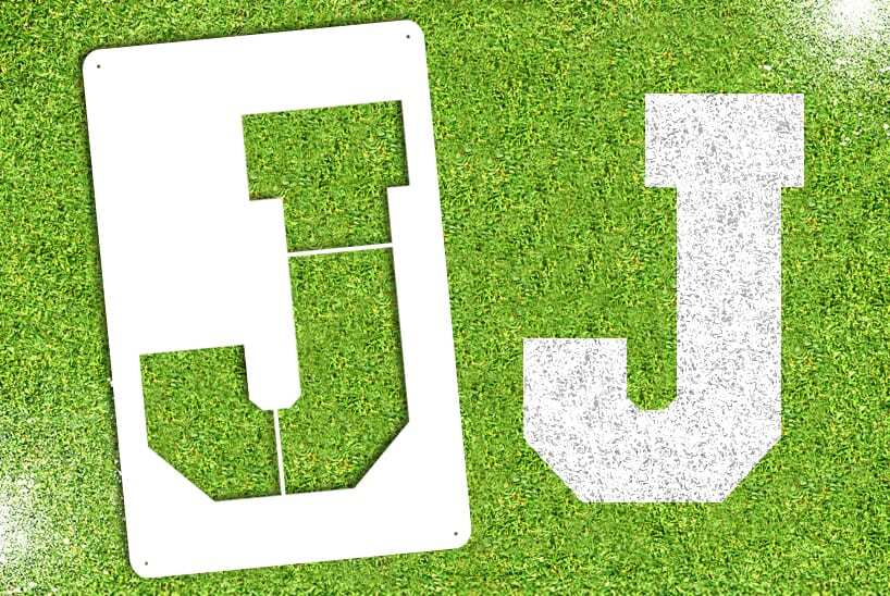 "Letter ""J"" Stencil"