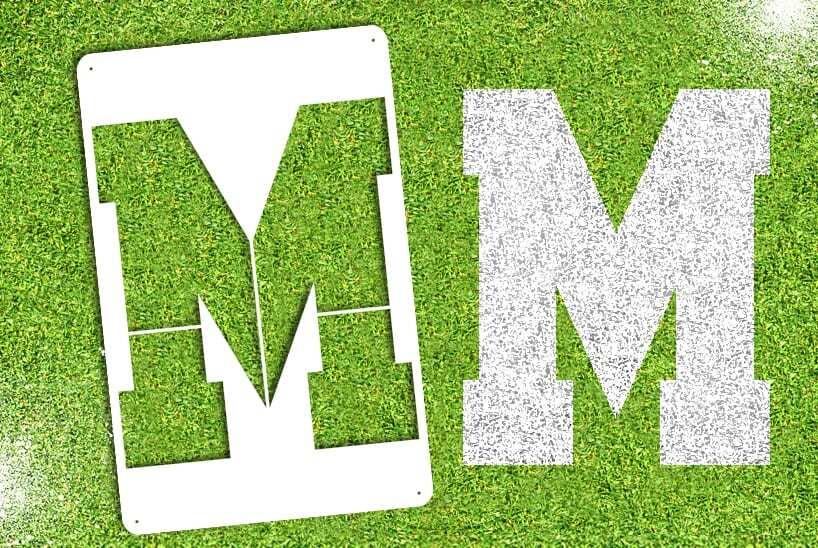 "Letter ""M"" Stencil"
