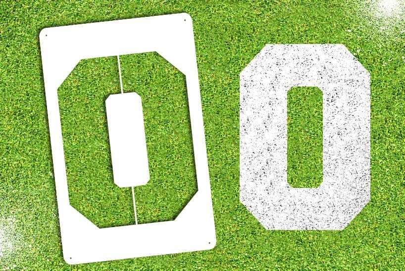 """Letter """"O"""" Stencil"""