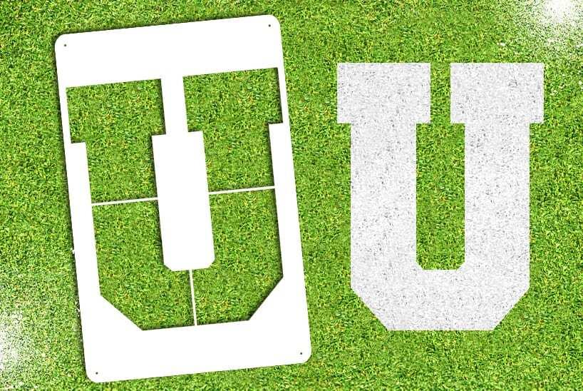 """Letter """"U"""" Stencil"""