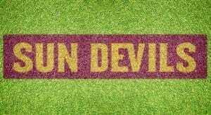 """Arizona State """"Sun Devils"""" - Lawn Stencil Kit"""
