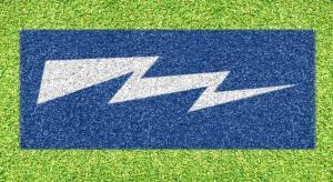 """Air Force """"Bolt"""" - Lawn Stencil Kit"""