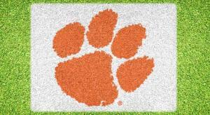 Officially licensed Clemson lawn stencil kit