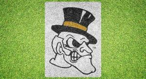 Wake Forest Deacon Head - Lawn Stencil Kit