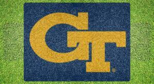 "Georgia Tech ""GT"" - Lawn Stencil Kit"