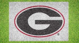 "University of Georgia ""G"" - Lawn Stencil Kit"