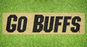 "Colorado ""Go Buffs"" - Lawn Stencil Kit"