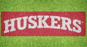 """Nebraska """"Huskers"""" - Lawn Stencil Kit"""