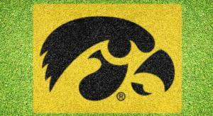 Iowa Hawkeyes - Lawn Stencil Kit