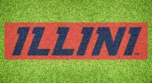 """Illinois """"Illini"""" - Lawn Stencil Kit"""