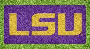 "Louisiana State ""LSU"" - Lawn Stencil Kit"