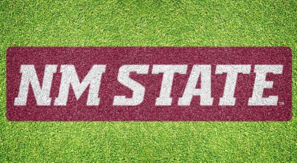 "New Mexico State ""NM State"" - Lawn Stencil Kit"