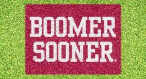 "Oklahoma ""Boomer Sooner"" - Lawn Stencil Kit"