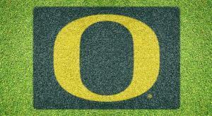 """Oregon """"O"""" - Lawn Stencil Kit"""