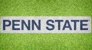"""""""Penn State"""" - Lawn Stencil Kit"""
