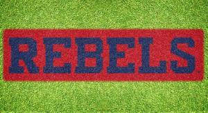 "Ole Miss ""REBELS"" - Lawn Stencil Kit"