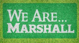 "Marshall ""We Are Marshall"" - Lawn Stencil Kit"