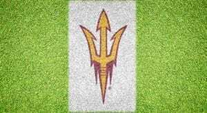 Arizona State Trident - Lawn Stencil Kit