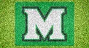 """Marshall """"M"""" - Lawn Stencil Kit"""