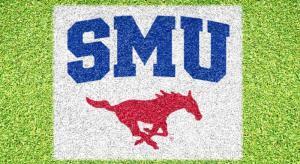 SMU Mustang - Lawn Stencil Kit