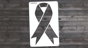 Awareness Ribbon, Medium - Stencil Only
