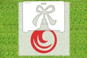 Christmas Ornament Stencil - Lawn Stencil Kit