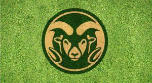 Colorado State Ram - Lawn Stencil Kit