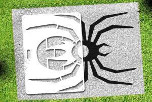 Spider - Lawn Stencil Kit