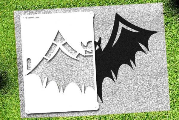 Bat - Lawn Stencil Kit