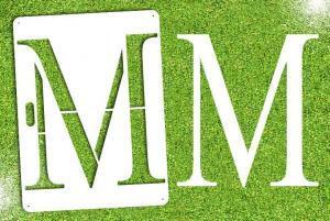 Greek Alphabet - MU