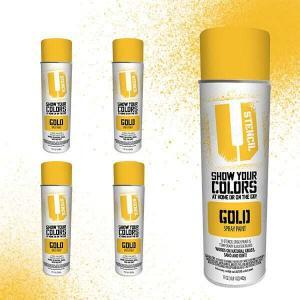 Spray Paint Gold 4 pack