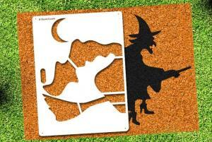 Witch - Lawn Stencil Kit