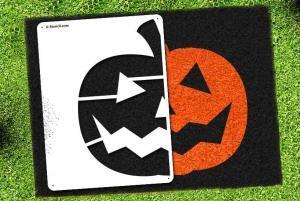Jack-O-Lantern - Lawn Stencil Kit